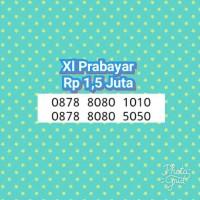 Kartu Perdana Xl(Prabayar)AbAbCdCd-0878 8080 1010 & 5050-L7P-345