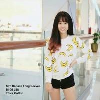 Sweater banana-jaket wanita polos-sweater distro keren-baju hangat-BL