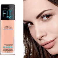 Jual Ready, Maybelline Fit Me Matte + Poreless Foundation 30ml Murah