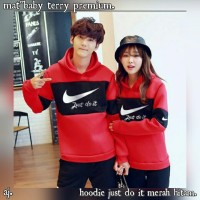 BAJU / SWEATER / JAKET HOODIE COUPLE NIKE KOREAN STYLE EXPORT / IMPORT