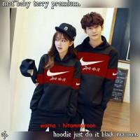 BAJU / SWEATER / JAKET HOODIE COUPLE NIKE KOREAN STYLE HARGA SEPASANG