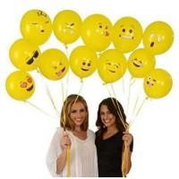 Balon Tiup Emoticon 100PCS,,, terlaris