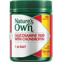 Glucosamine 1500 with Chondroitin 180 Tablet | Nature Own
