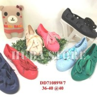 Jual Sepatu wanita jelly shoes import sneakers cewe keds kets DD71089W7 Murah