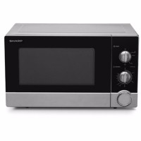 Sharp Microwave R-21D0(S)-IN - Silver Hitam