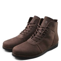 Sepatu Sauqi Brodo Brown Sepatu Boots Formal Pria Original Footwear 226cd3b9ce