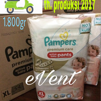 Jual Pampers Premium Care Active Baby Pants XL-54 Murah