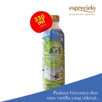 Jual Esprecielo Allure Vanilla Green Tea Latte Bottle - 330 ml Murah