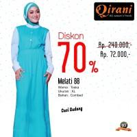 Qirani Dewasa Melati 88 | Baju Perempuan Wanita Muslim Gamis Dress