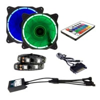 Alseye Fan Casing LED RGB ECLIPSE - CLS200E
