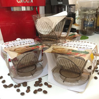 coffee dripper - alat kopi - paper drip pour over - v60 - manual bre