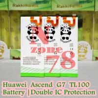 Baterai Huawei Ascend G7 TL100 HB3748B8EBC Double IC Protection