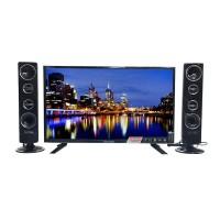 Polytron PLD 32 T711 TY LED TV 32 + speaker tower CINEMAXX