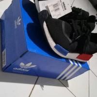 Adidas NMD OG R1 Runner Coreblack Blue-Red 100% UA ORIGINAL QUALITY