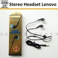 Headset Earphone Handsfree Lenovo Hitam A369 A369i A319 A390 A6000