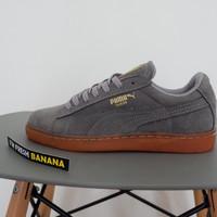 harga Sepatu Puma Suede Classic Skate Skateboarding Dark Grey Abu Gum Brown Tokopedia.com