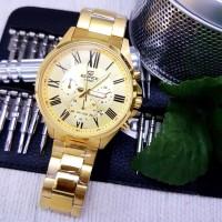 Jual Jam Tangan CASIO EDIFICE EFV 500 GOLD Murah