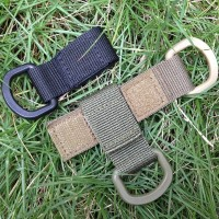 Tactical Nylon Webbing Buckle Molle System Hanging Hook Gantungan
