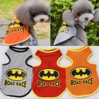 Hobi Baju Anjing / kucing gambar road race / batman