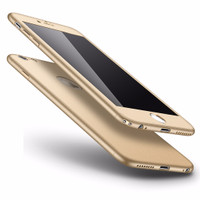 New iPhone 6/6s Plus 360 Full Cover Baby Skin Ultra Thin Hard Case Gol