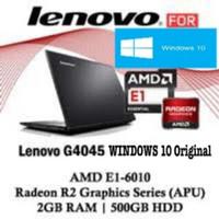 [SALE] Laptop Lenovo G40-30 dualcore N2840/2Gb/500Gb/14/Dvd /Dos Resmi