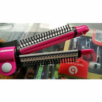 Jual SALE CATOK Lurus Tako Curly + Sisir NOVA 3in1 NCH-8890 CERAMIC Coating Murah
