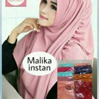 Jilbab Instan Malika / Khimar / Hijab / Kerudung Langsungan