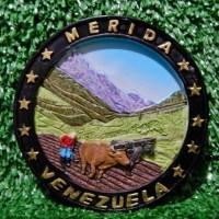 magnet kulkas oleh oleh murah dari negara venezuela