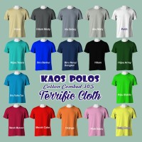 Jual Kaos Polos Oblong Cotton Combed 30S Bandung SIZE XL Murah