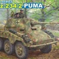 DRAGON 1/35 6256 Sd.Kfz.234/2 PUMA model kit