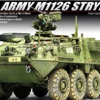 Academy AFV CLUB 1/35 Plastic Model Kit US Army M1126 STRYKER 13284 NI