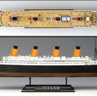 Academy 1/700 Scale 14214 R.M. S. TITANIC Plastic Model Kit NIB Ship