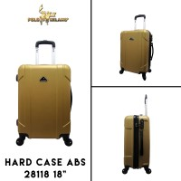 "Polo Milano Koper Hard Case ABS 28118 18"" Gold Cabin Sized"