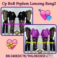 Jual Couple Setelan Rok LILIT N Blouse Peplum Lonceng Batik PRODO RANG-RANG Murah