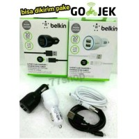 Jual Saver/Charger Mobil Belkin 2 Usb 2A for Micro Murah