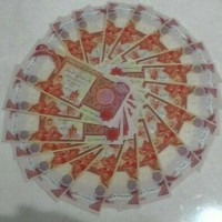 Dinar Iraq pecahan 25000 IQD Iraqi Dinars