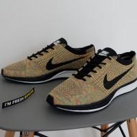 Sepatu Nike Flyknit Racer Racing PREMIUM Multicolor Orange Green Brown