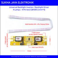 LCD CCFL Inverter - 4 lampu - 4 pin kecil