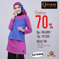 Qirani Dewasa Melati 108 | Baju Perempuan Wanita Muslim Gamis Dress.