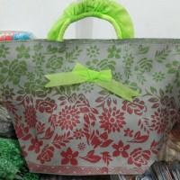 Jual tas nasi / kue / berkat / syukuran / penghantar doa model batik bunga Murah