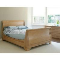 Tempat tidur bagong ranjang kayu dipan jati jepara bisa custom