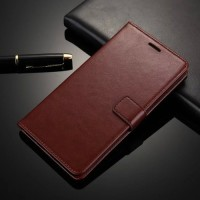 Samsung Galaxy A9 Pro 2016 Leather Case Casing Kulit Flip Wallet Cover