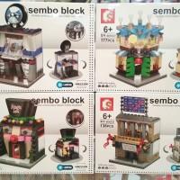 sembo block LED sd6528-31 Cocktails Sulap BMW Bursa efek