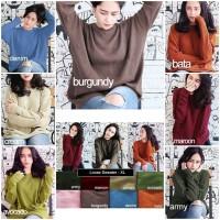 Jual Loose sweater big size   sweater rajut   baju rajut   rajut korea Murah