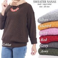Nanas Sweater | Pusat Rajutan