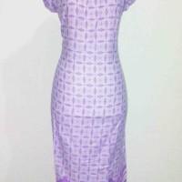 Jual Daster batik motif soka ungu baju batik murah  Murah