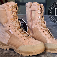 Sepatu army 5.11 tactical military boots USA desert import airsofter
