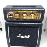 amplifier gitar mini original marshall MS2/mini guitar amplifier