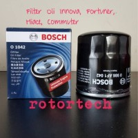 Filter Oli BOSCH O 1042 Toyota Innova Fortuner Hiace Commuter