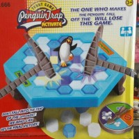 PENGUIN TRAP Dont Break The Ice Challenge Funny Board Game Puzzle